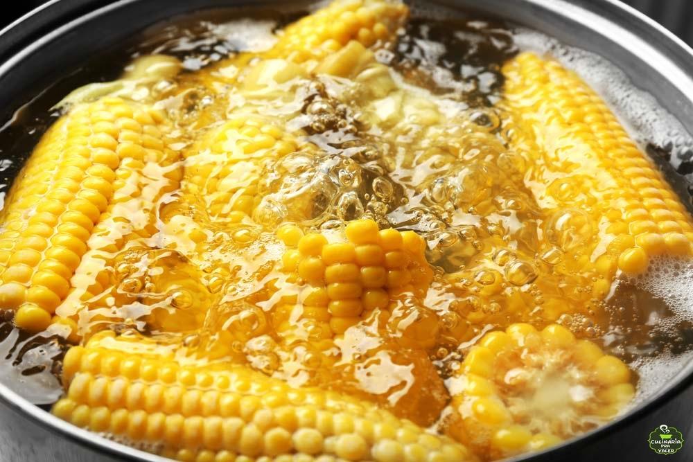 Milho verde cozido suculento pra sua festa junina em casa não passar em branco