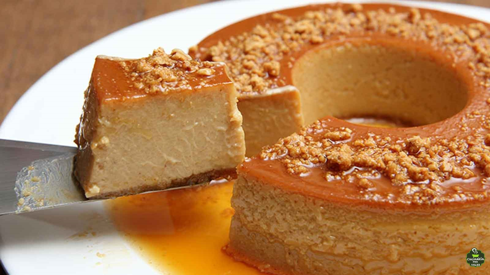 Pudim de paçoca aquela sobremesa perfeita para sua festa junina nesta quarentena