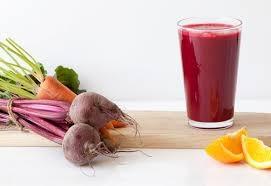 Suco de beterraba laranja e cenoura delicia