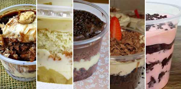 5 recheios para bolo de pote sensacional