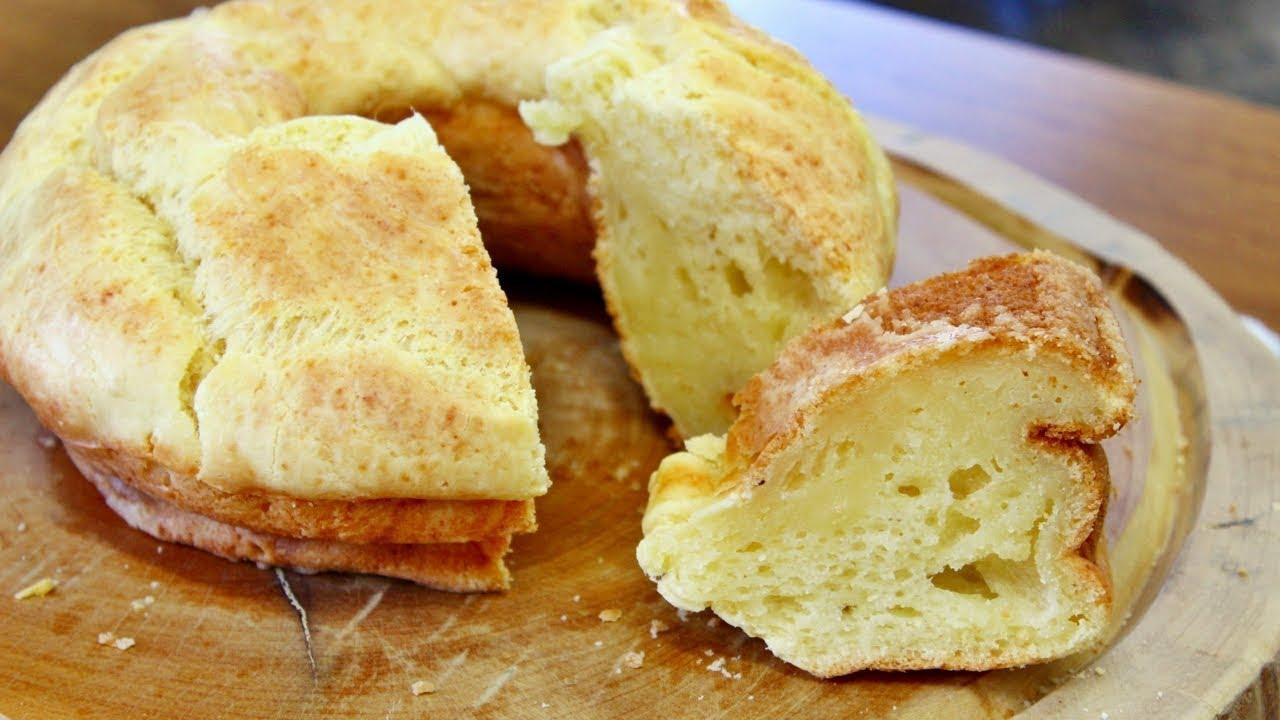 Pão de queijo de forma - muito fácil e prático de fazer