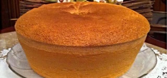 Receita do bolo de Água, simples e fácil, confira !