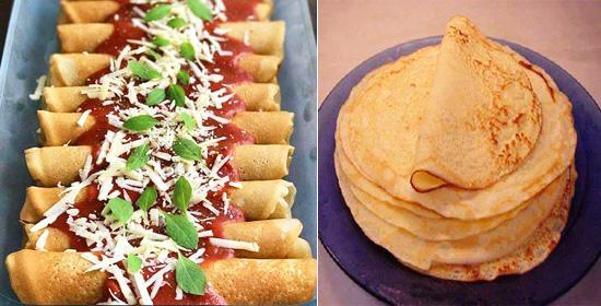 Veja como é prático preparar uma deliciosa panqueca sem usar farinha