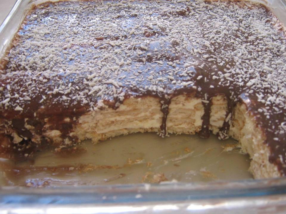 Torta alemã simples - sobremesa irresistível