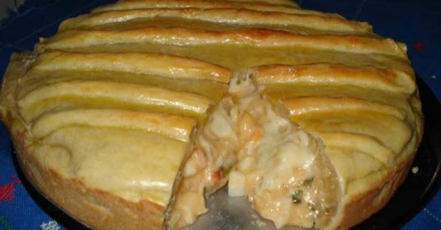 Torta cremosa de palmito – uma receita simples e fácil