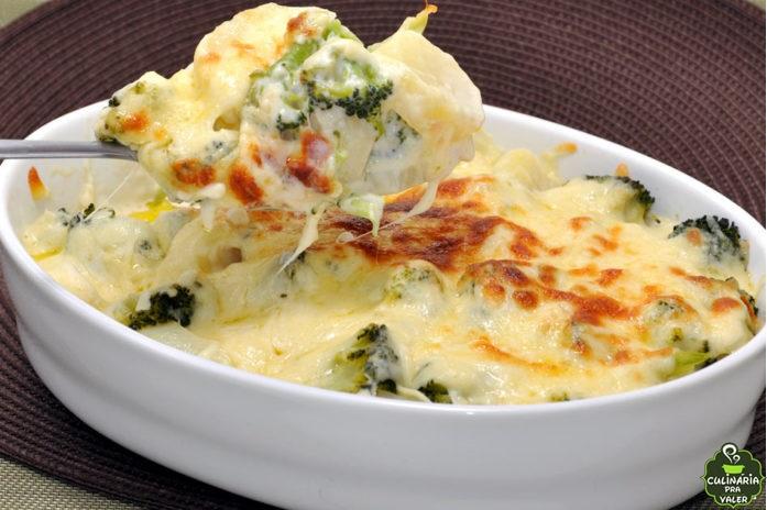 Batata com brócolis ao forno, delícia de prato para seu jantar