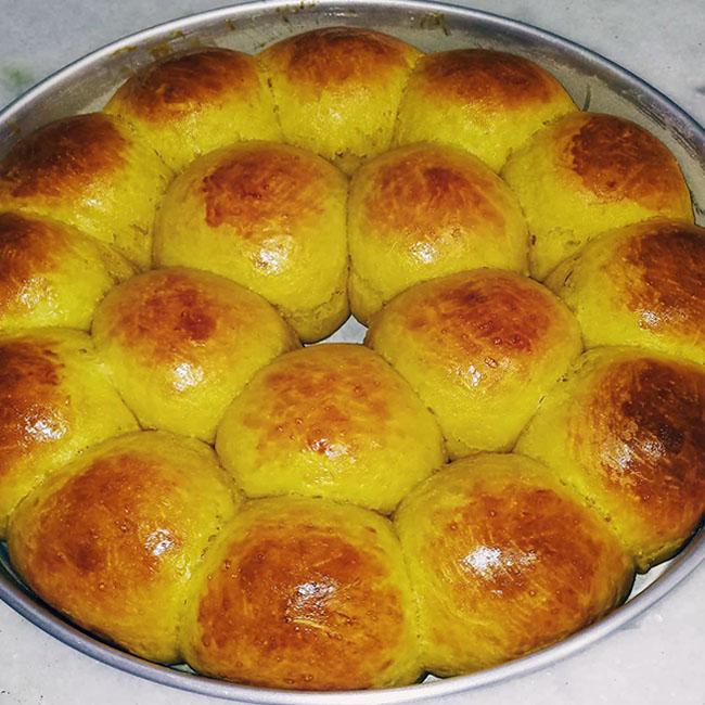 Pãozinho de abóbora delicioso