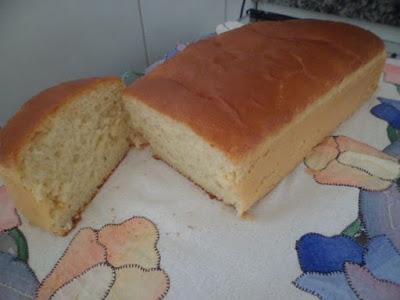 Pão caseiro rápido e fofo