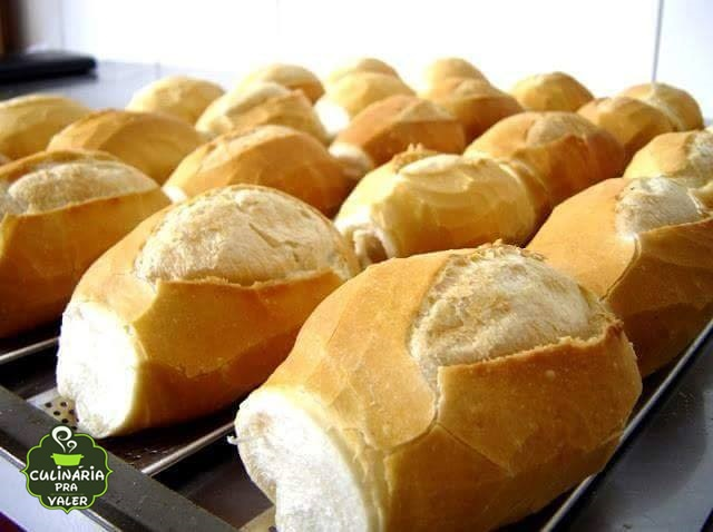 Receita pão francês legítimo