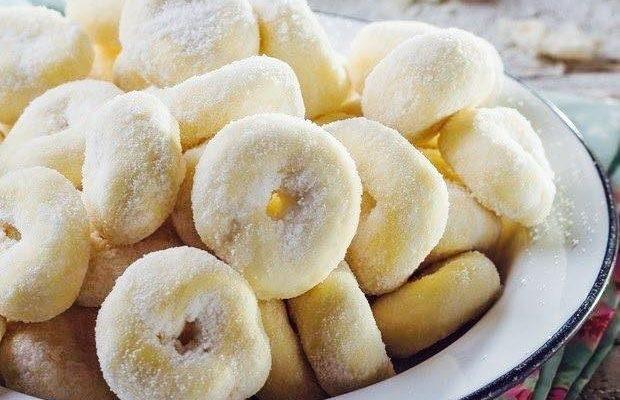 Rosquinhas macias, deliciosas e fácil de fazer !
