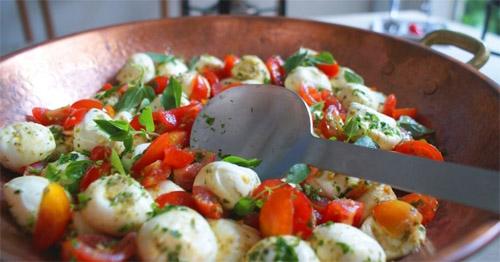 Salada diferente para o almoço muito fácil