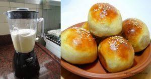 Pãozinho de liquidificador, veja como é fácil de fazer e uma delicia!