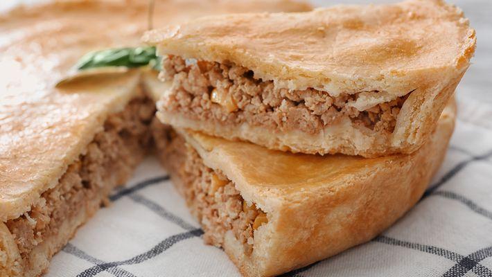 Torta fácil de carne moída simplesmente divina