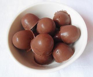 Bombons de chocolate sem glúten