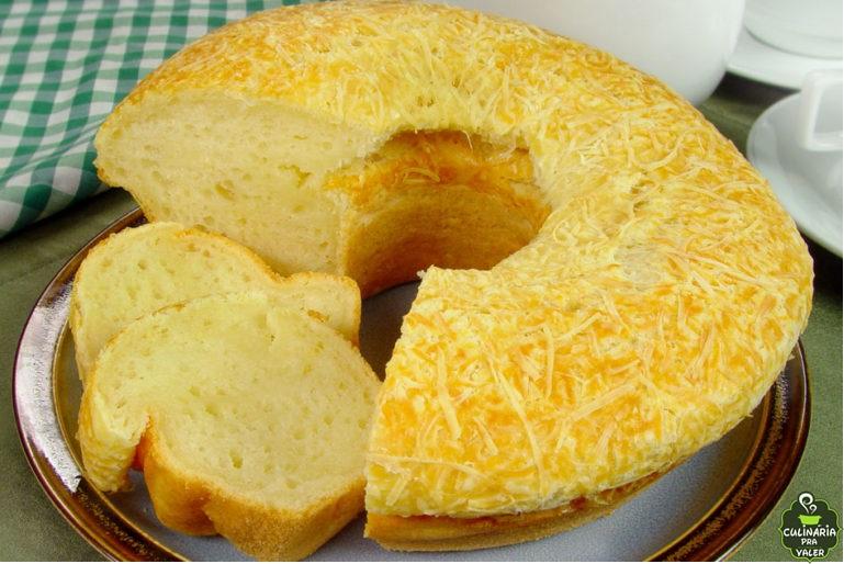 Pão de queijo gigante