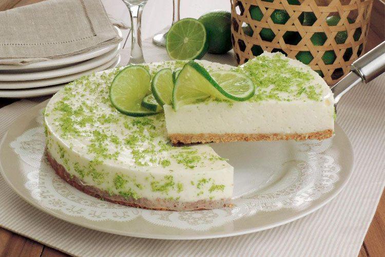 Torta de limão super fácil e deliciosa