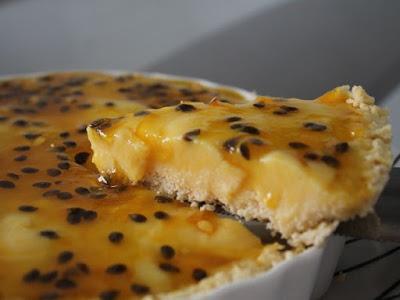 Torta de maracujá deliciosa