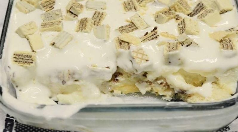 Sobremesa de preguiçoso – simples, fácil e prática