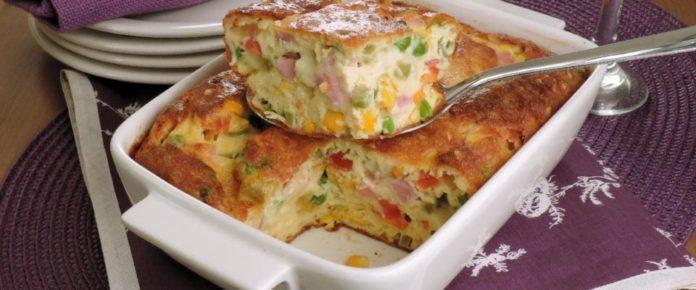Aprenda a preparar omelete-suflê de forno. uma receita de dar água na boca