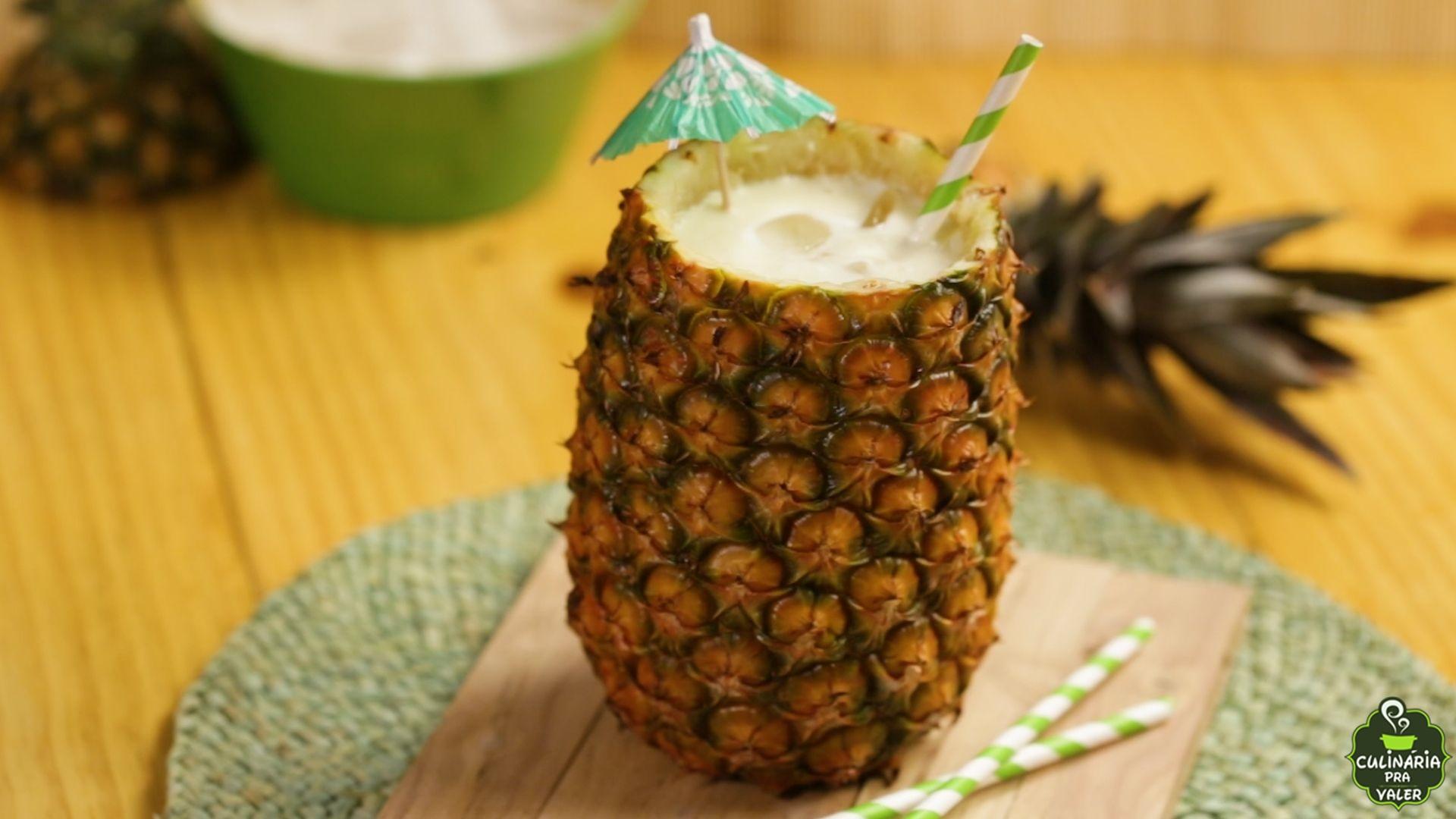 Como fazer batidinha de abacaxi muito fácil