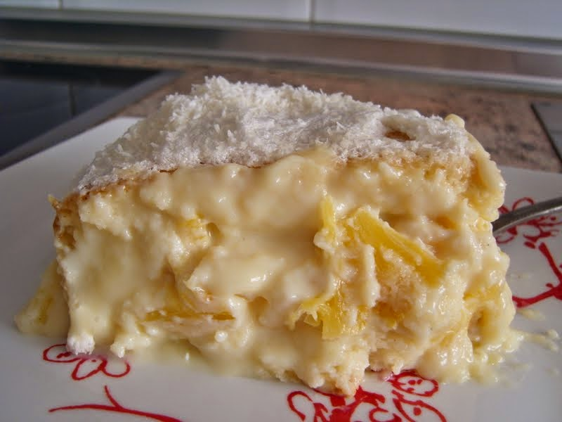 Recheio de creme de abacaxi para bolo maravilhoso