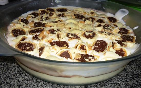 Torta de sonho de valsa - sobremesa fácil e deliciosa