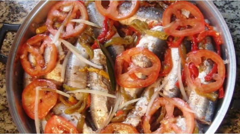 Receita maravilhosa de sardinha escabeche uma delícia