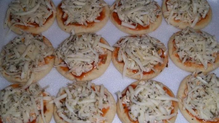 Mini pizza deliciosa