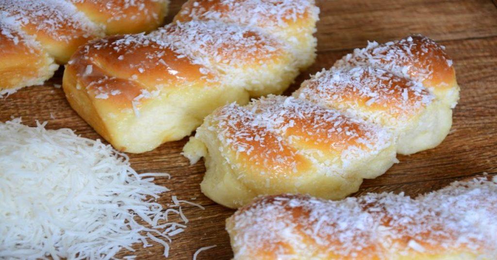Receita de pão doce de leite condensado – simples e muito fácil