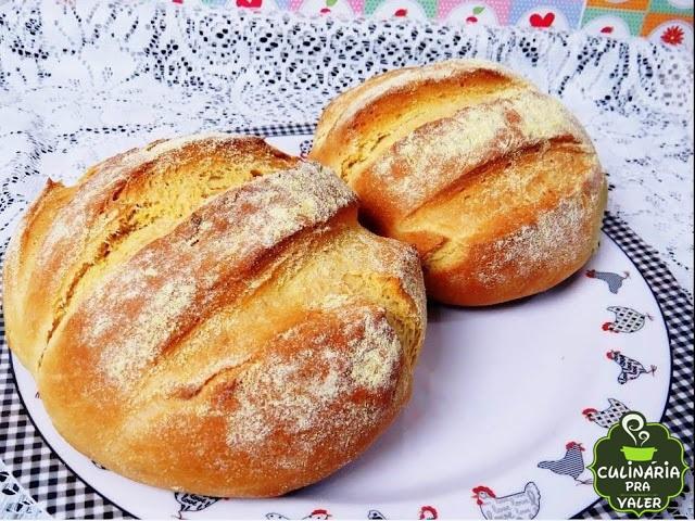 Receita pão de milho