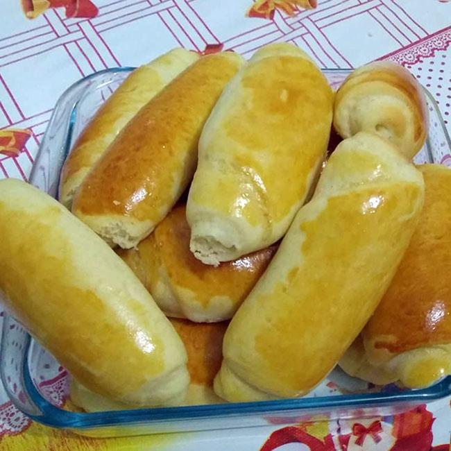 Pão caseiro de padaria muito fácil